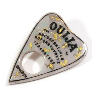 COPY - Blackberry Cream Ouija Planchette Pin